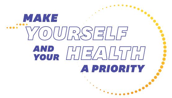 IMAGE-Make yourself and your health a priority