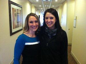 Marissa with Dr. Kristy Pytash.