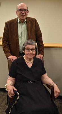 Charles Lang and Mary Sue Lang