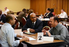 Kent State's Division of Information Services met with nearly 40 regional businesses at an IT Supplier Diversity Matchmaker Event on Oct. 18 in the Kent Student Center