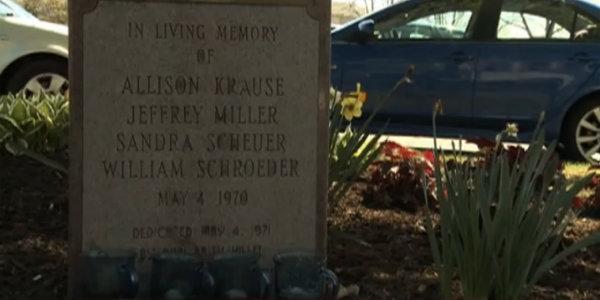 Memorial of Allison Krause, Jeffrey Miller, Sandra Scheuer, and William Schroeder