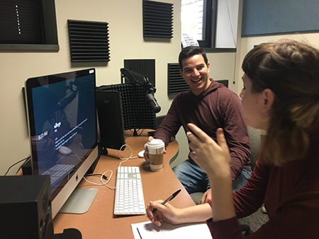 Kent State College of Communication and Information seniors Daniel Henderson and Hana Barkowitz will host World Class, a new podcast focused on fostering interesting global conversations.