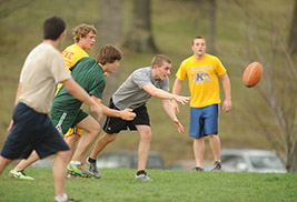Kent State University's Department of Recreational Services offers intramural leagues to Kent State community members. Beginning in the spring, Recreational Services will offer Kent State faculty and staff members exclusive intramural leagues.