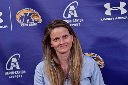 Brianne Tierney has been named Kent State University's first head coach for women's lacrosse.