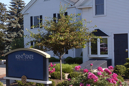 The Office of Sexual and Relationship Violence and Support Services is located in the Williamson House on the Kent Campus.