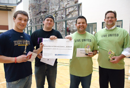 The annual United Way Cornhole Tournament is open to all Kent State faculty, staff and affiliates of the university