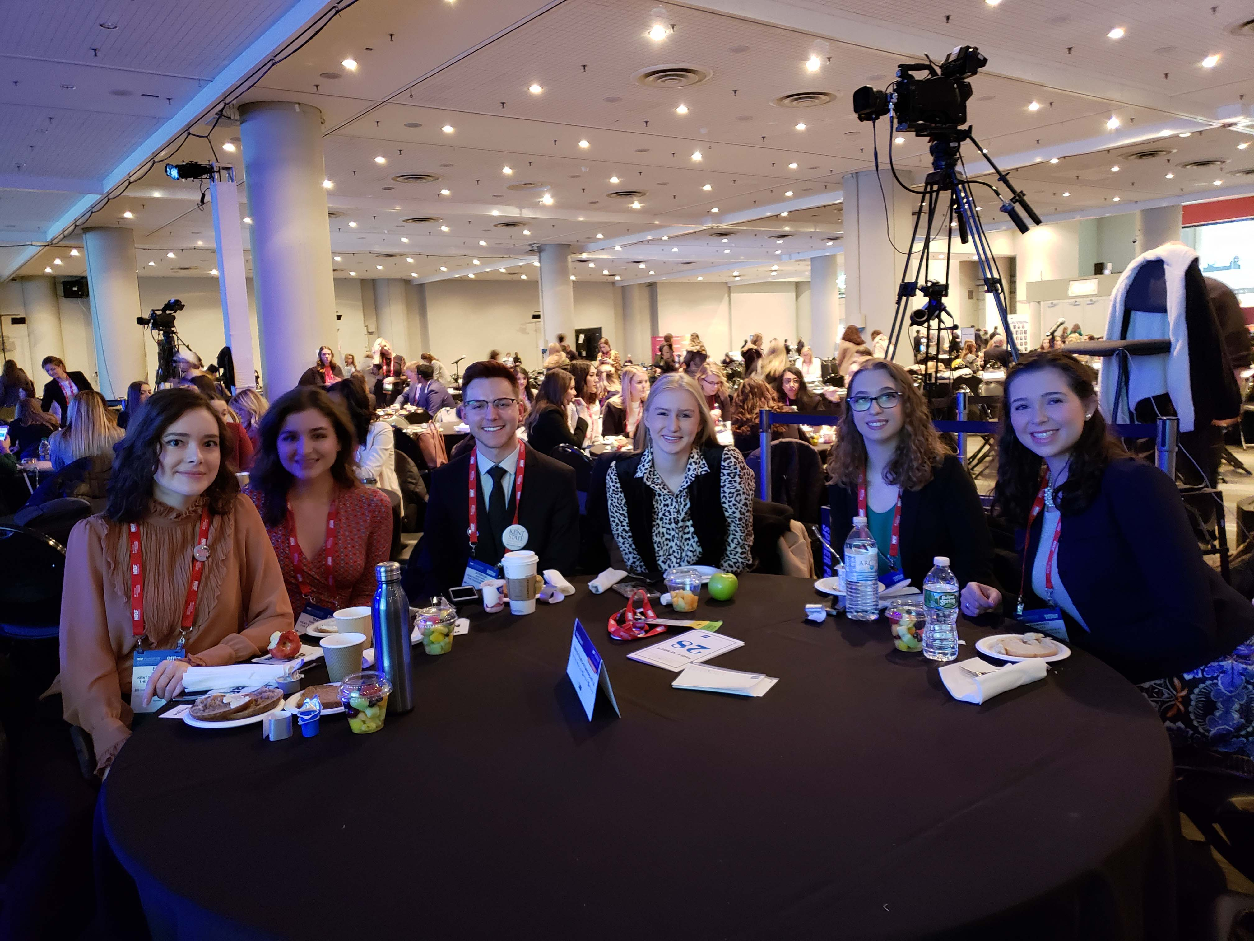 KSU Students at 2019 NRF Gala