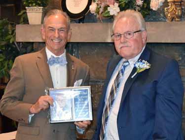 Thomas D. Snow received the Lifetime Achievement Award