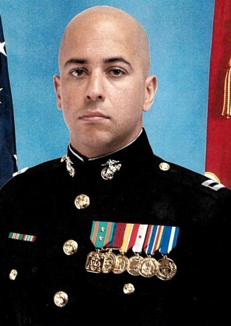 Photo of Leadsership Speaker Captain Negron, USMC