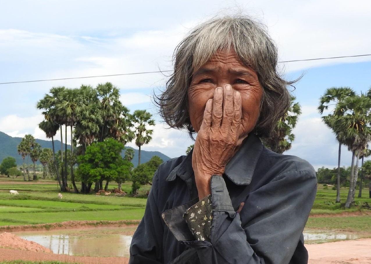 A survivor of the Cambodian Genocide