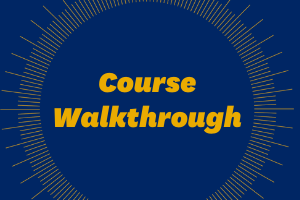Course Walkthrough Webpage Icon Image