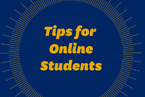 Tips for Online Students Webpage Icon Image