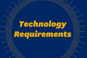 Technology Requirements Webpage Icon Image