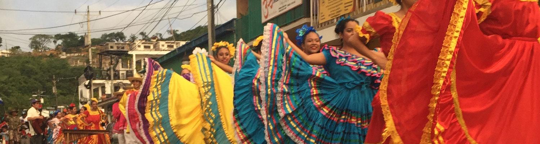 Celebrating in Nicaragua