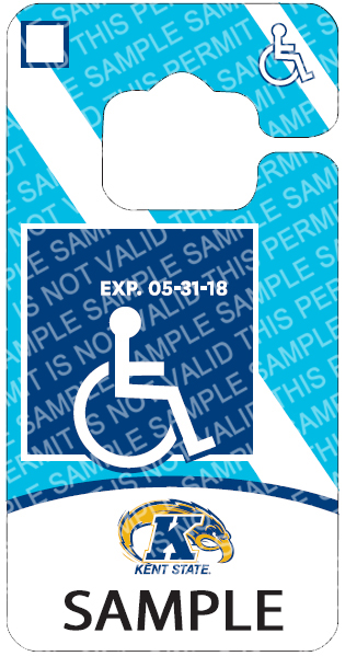 Kent State Disability Permit