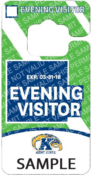 Evening Visitor Permit