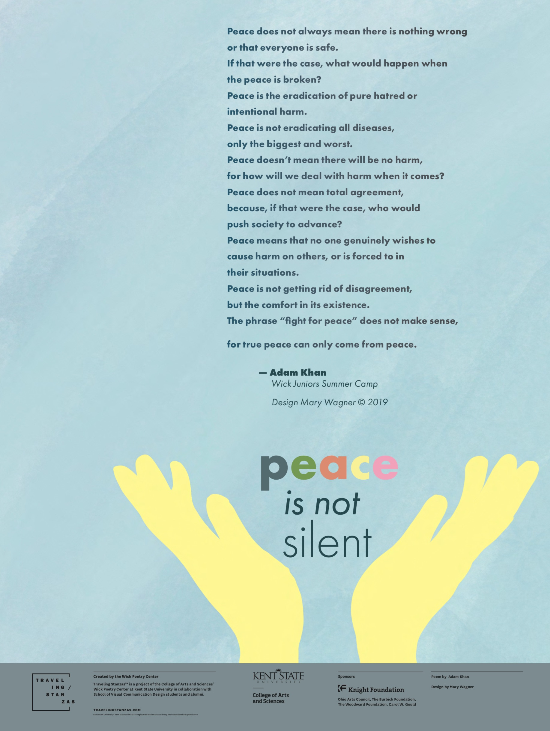 Peace is Not Silent
