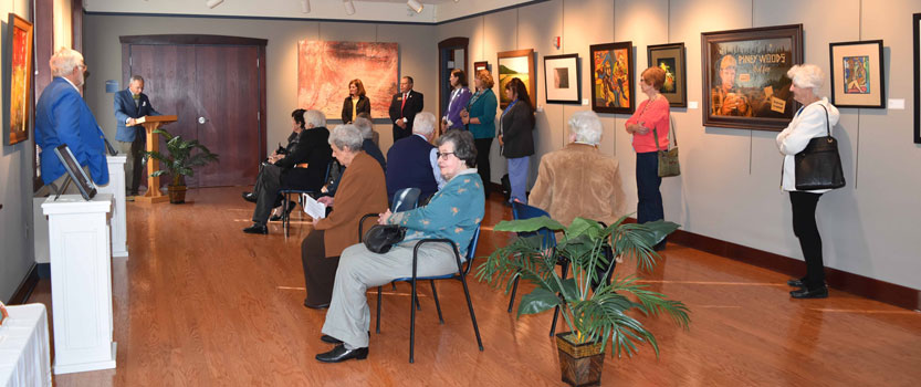 Kent State East Liverpool Unveils Permanent Art Collection