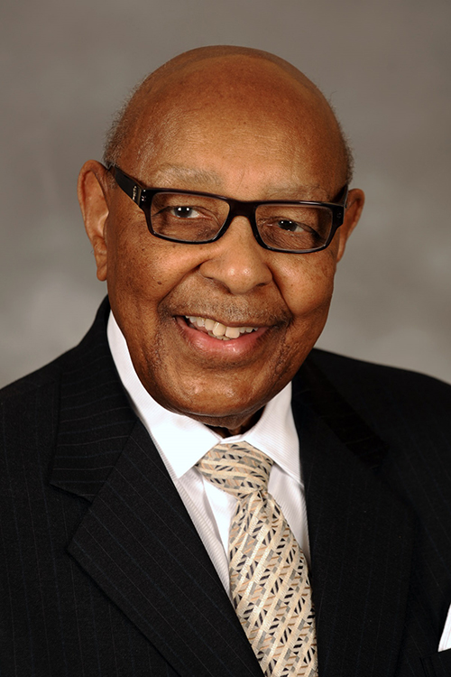 Louis Stokes, a former U.S. congressman, served as Kent State's President Ambassador from 2013-2014.
