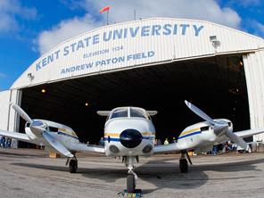 Kent State University's Piper PA-44-180 Seminole