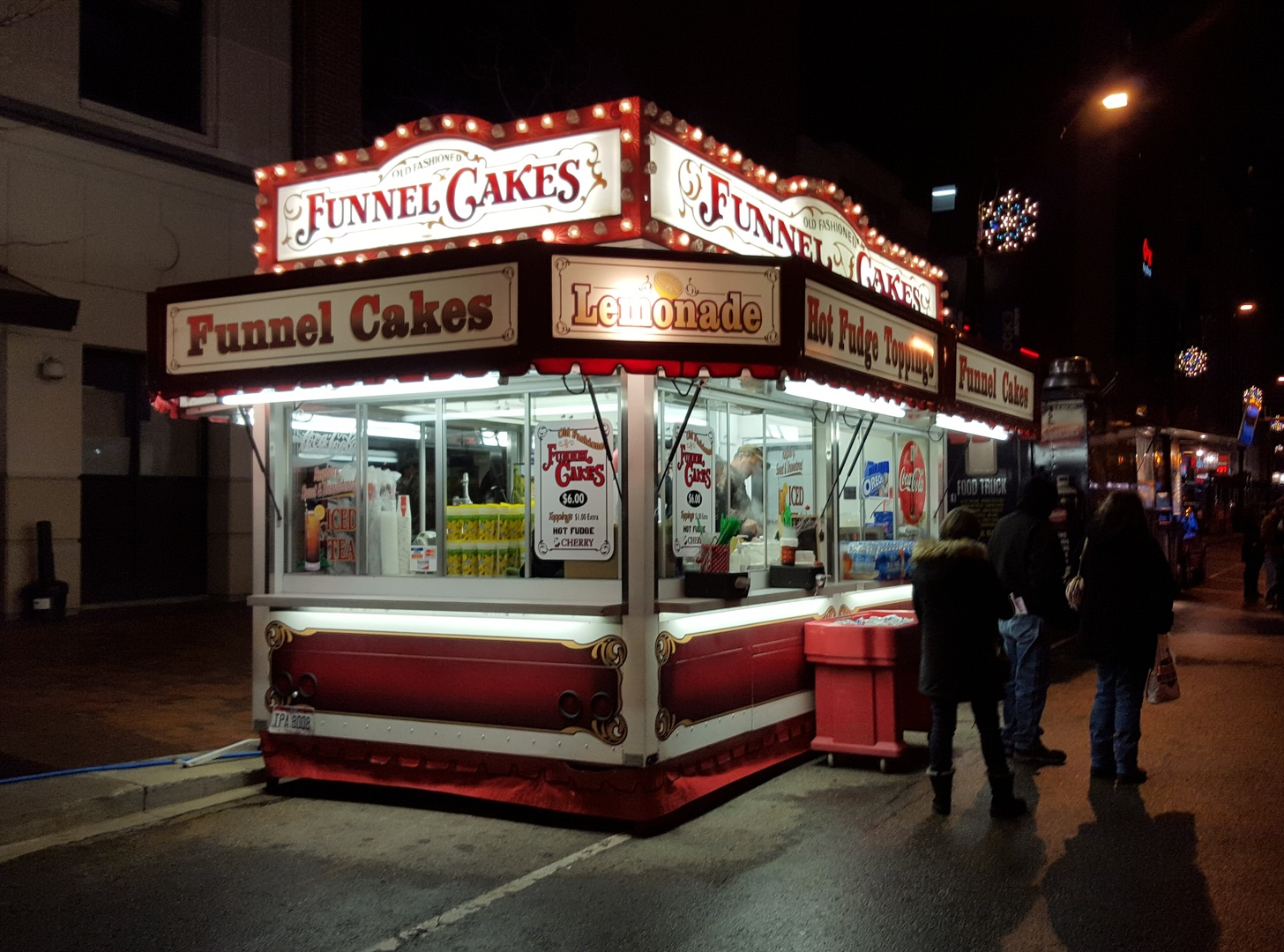 Playland Food Concessions, funnel cakes