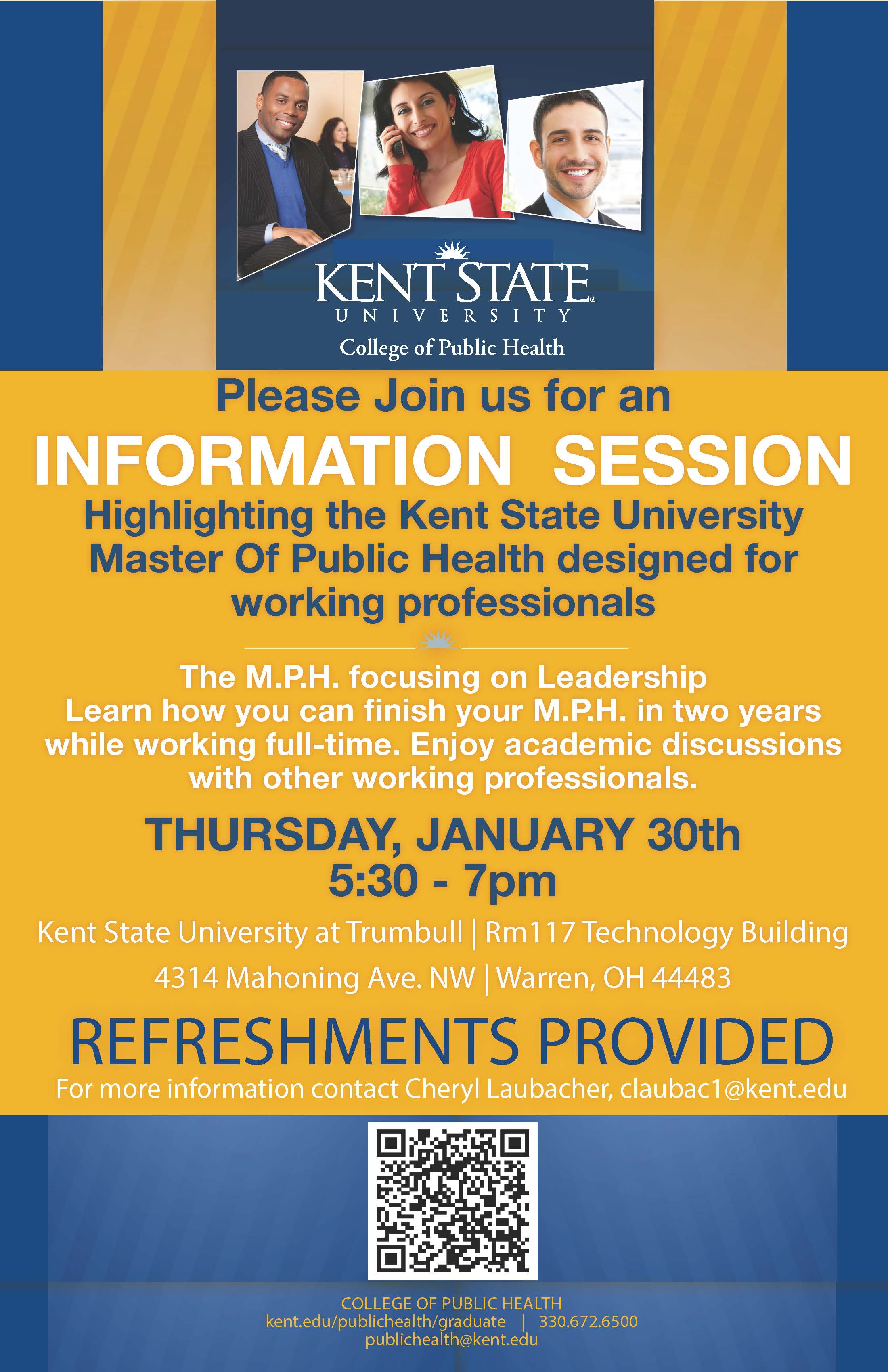 Master of Public Health Info Night happens Jan. 30