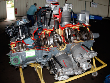 Pratt & Whitney R-2800 Wasp Double-Radial Engine, MAPS Air Museum