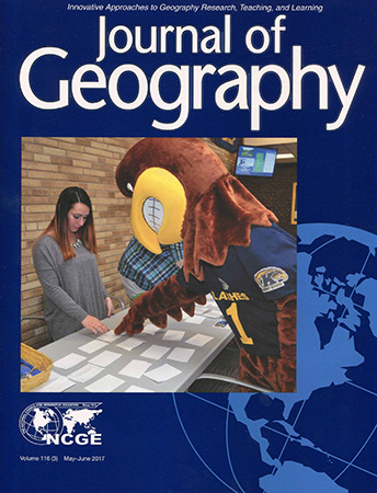 Kent State Salem was featured in the cover of the Journal of Geography.