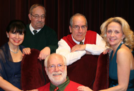 The Lyric Theatre Ensemble, a professional vocal ensemble, will perform An Old Fashioned Christmas at Kent State University at Tuscarawas on Nov. 28.