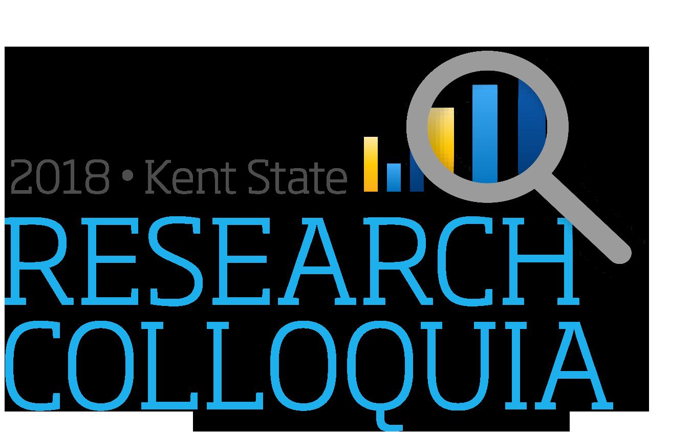 2018 Kent State Research Colloquia Logo