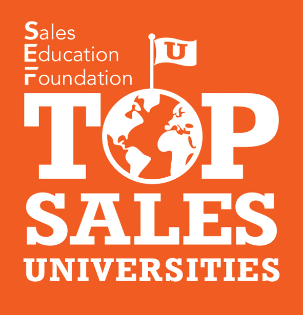 Sales Education Foundation, or SFE, Top Sales Universities seal.