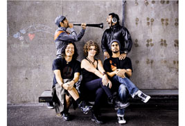 The five-member group Delhi 2 Dublin will perform a free concert on Manchester Field on Thursday, Sept. 20, as part of this year's Kent State Folk Festival.  (Photo provided by Delhi 2 Dublin)