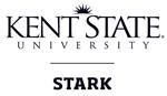 Kent State Stark Black Vertical Logo