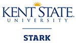 Kent State Stark Blue and Gold Vertical Logo