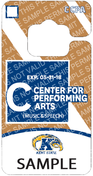 C-Center for the Performing Arts Lot Permit