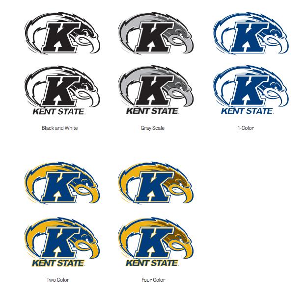 The Kent State University Intercollegiate Athletics Logo