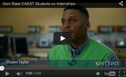 See what Kent State CAEST students have to say about Internships
