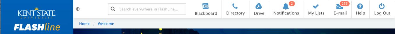 Flashline Banner BlackBoard Tab