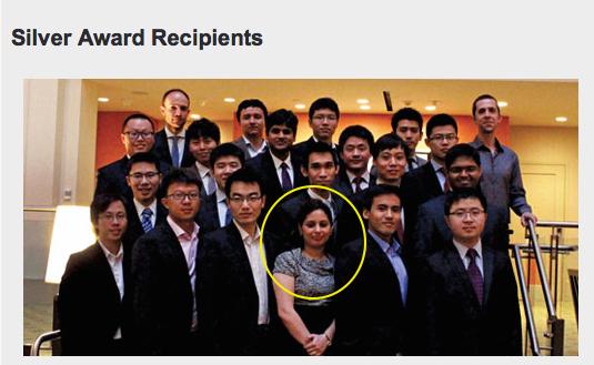 Silver Award Recipients. Among them, Anshul Sharma, a Kent State University graduate student