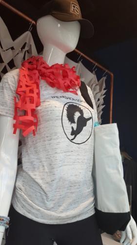 Fashion School T-Shirt with Kent Black Squirrel Mascot