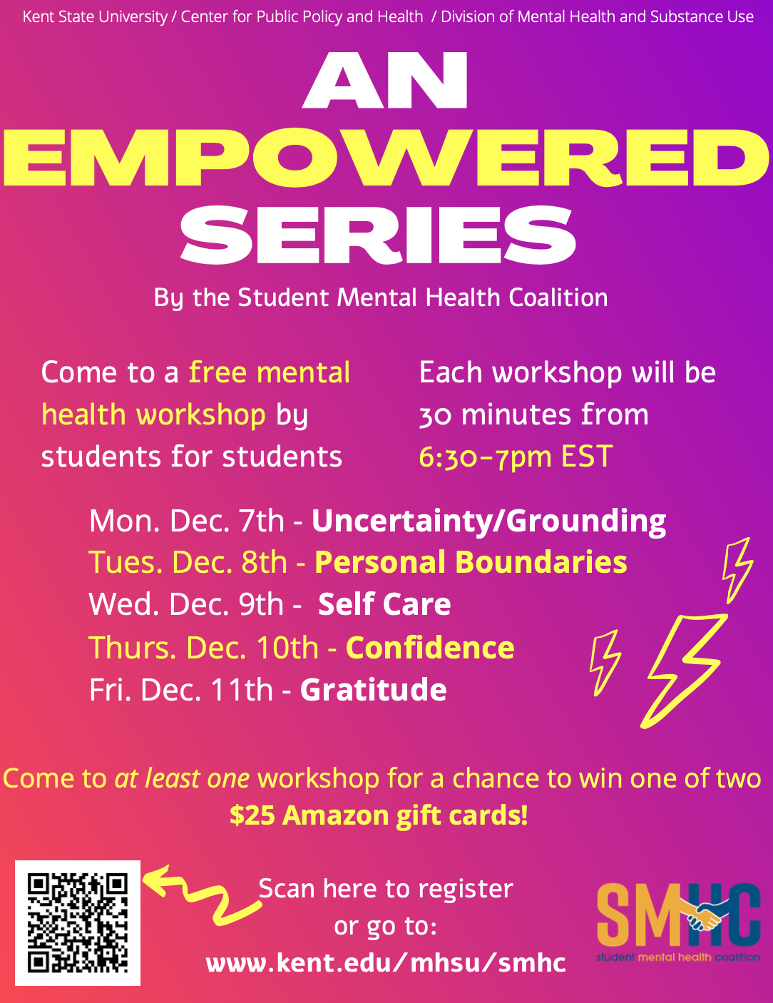 Empowered Series graphic, see info