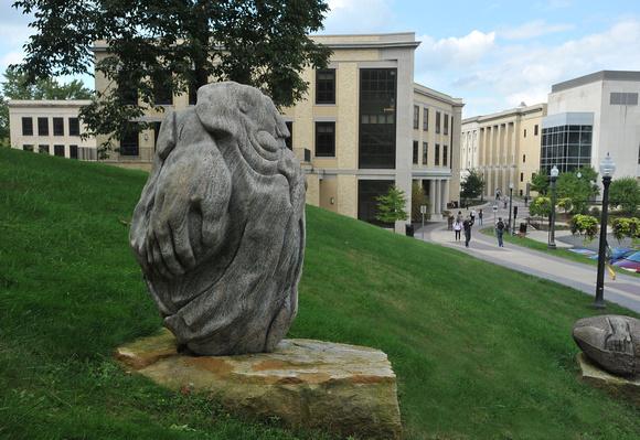 Sculpture Near Kent Hall