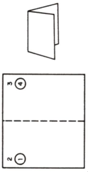 Single Fold Mailpiece