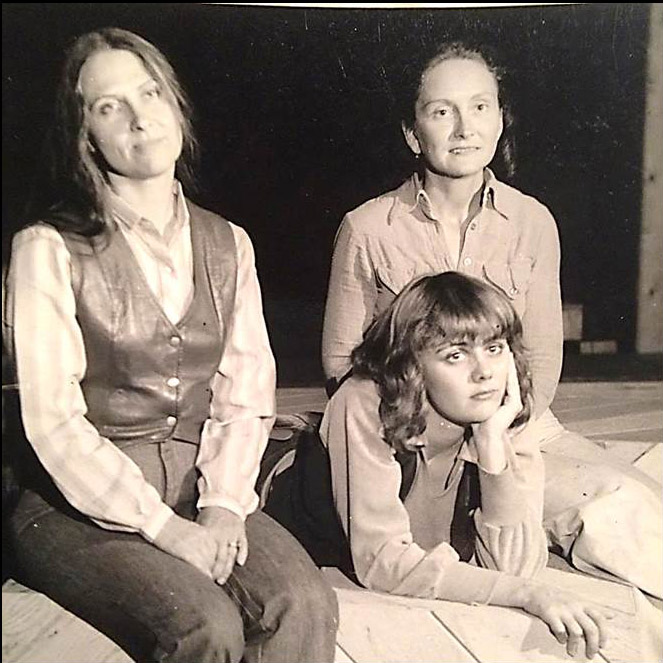 """Mary Brizzi (left), Kathy O'Malia (center), and Sophie Romack appear in the 1979 production of """"Vanities."""""""