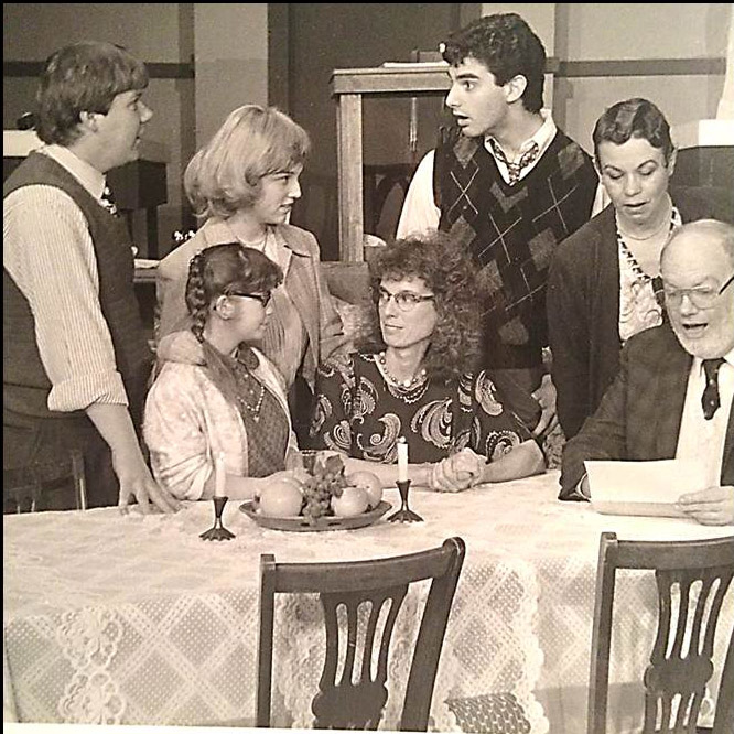 """The cast of """"Brighton Beach Memoirs"""" (1988)."""