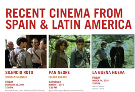 Kent State University's Institute for Applied Linguistics presents a Spanish Film Series from Feb. 28 – March 15 at the Schwartz Center Auditorium. The series, which will feature five films, is free and open to the public.
