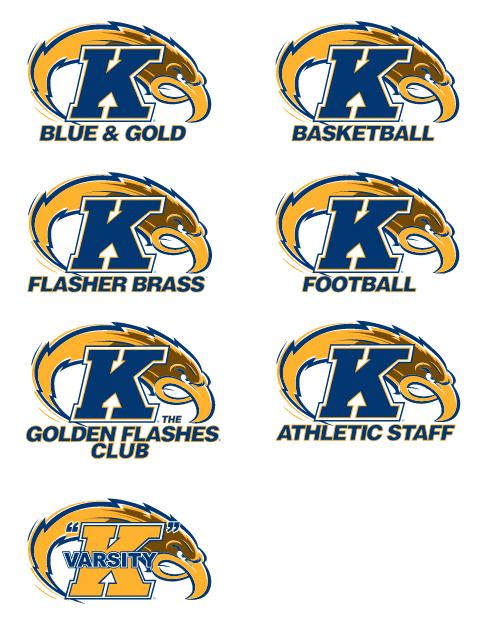Sports-Specific Intercollegiate Athletic Logo Examples