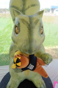 Squirrelasaurus Rex