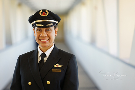 Stephanie M. Johnson, captain at Delta Air Lines
