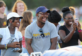 Kent State students have a great time at last year's Back-to-School Summer Blastoff. Kent State departments and organizations can reserve a table for this year's event that takes place Aug. 25.